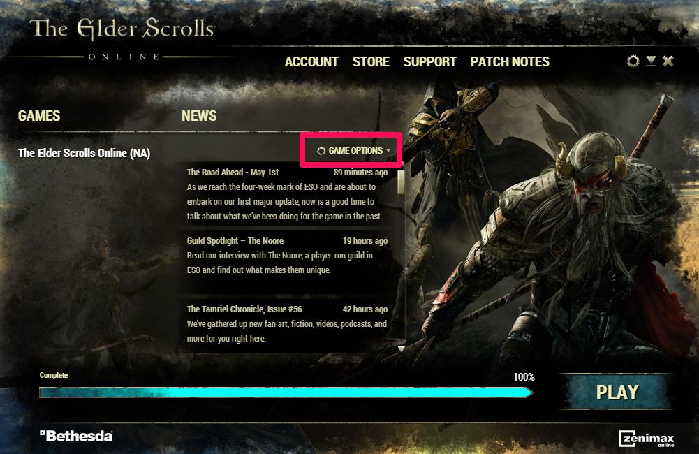 Solved: How to fix Elder Scrolls Online Launcher Not